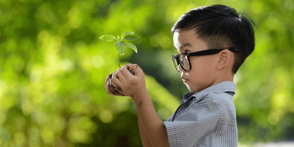 Une école axée sur la nature